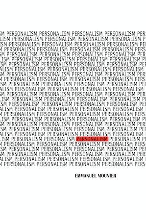 Personalism book image