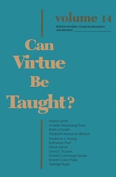 Can Virtue Be Taught?