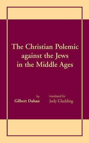 Christian Polemic against the Jews in the Middle Ages, The book image