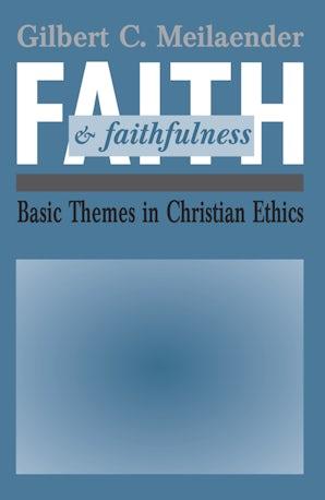 Faith and Faithfulness book image