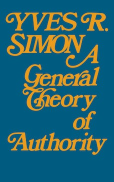General Theory of Authority, A