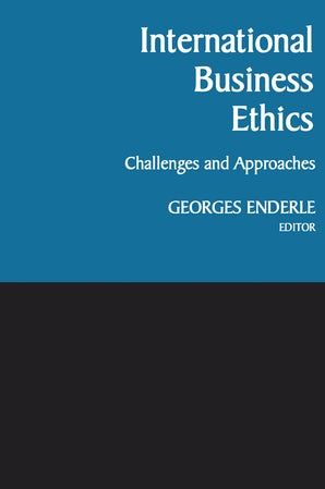 International Business Ethics book image