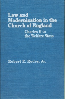 Law and Modernization in the Church of England