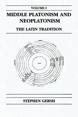 Middle Platonism and Neoplatonism, Volume 1 book image