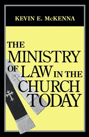 Ministry of Law in the Church Today, The book image