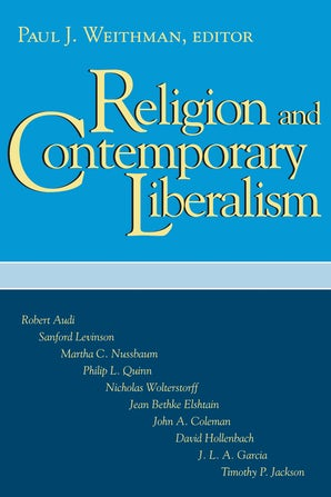 Religion and Contemporary Liberalism book image