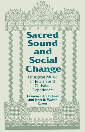 Sacred Sound and Social Change book image