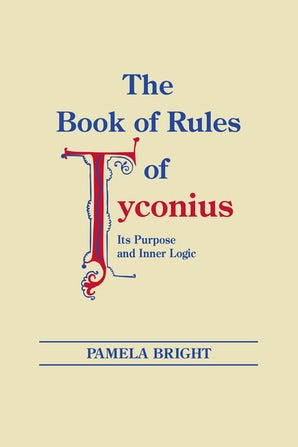 Book of Rules of Tyconius, The book image