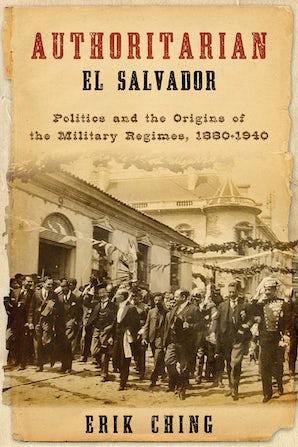 Authoritarian El Salvador book image