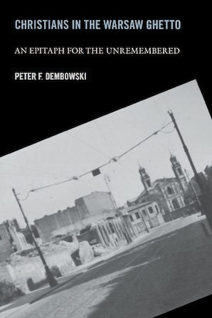 Christians in the Warsaw Ghetto book image