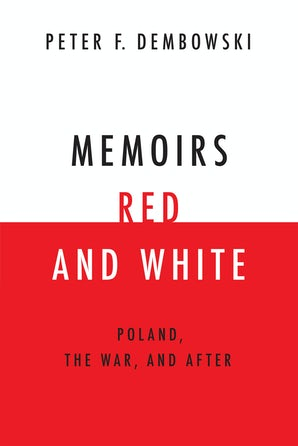 Memoirs Red and White book image