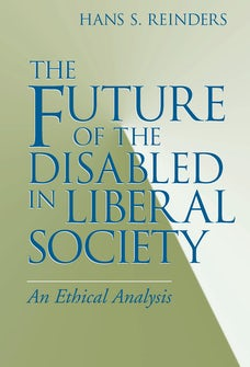 Future of the Disabled in Liberal Society, The