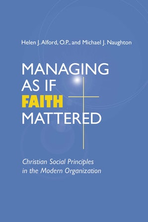 Managing As If Faith Mattered book image