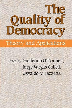 The Quality of Democracy book image