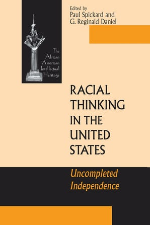 Racial Thinking in the United States book image