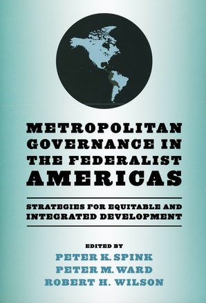 Metropolitan Governance in the Federalist Americas book image