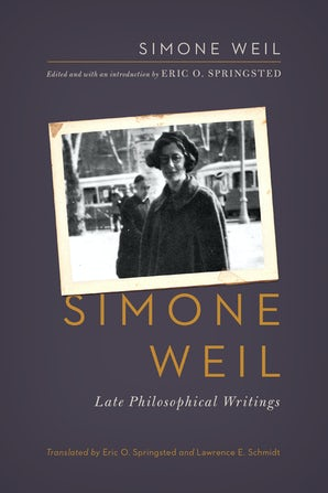 Simone Weil book image