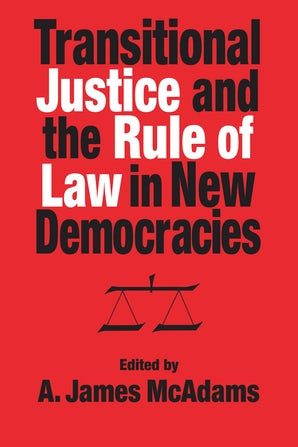 Transitional Justice and the Rule of Law in New Democracies book image