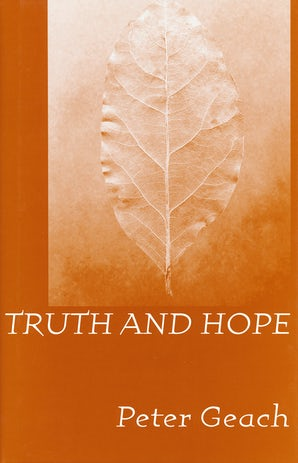 Truth and Hope book image