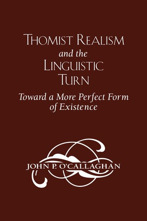 Thomist Realism and the Linguistic Turn book image