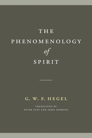 The Phenomenology of Spirit book image