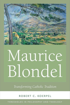 Maurice Blondel book image