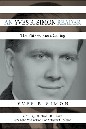 An Yves R. Simon Reader book image