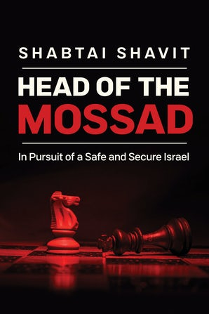 Head of the Mossad book image
