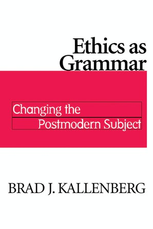 Ethics as Grammar book image