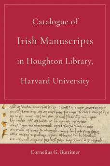 Catalogue of Irish Manuscripts in Houghton Library, Harvard University